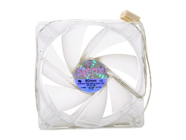 SilenX IXP-54-14B 80mm Blue LED Case fan