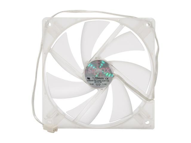 SilenX IXP-74-14R 120mm Red LED Case Fan