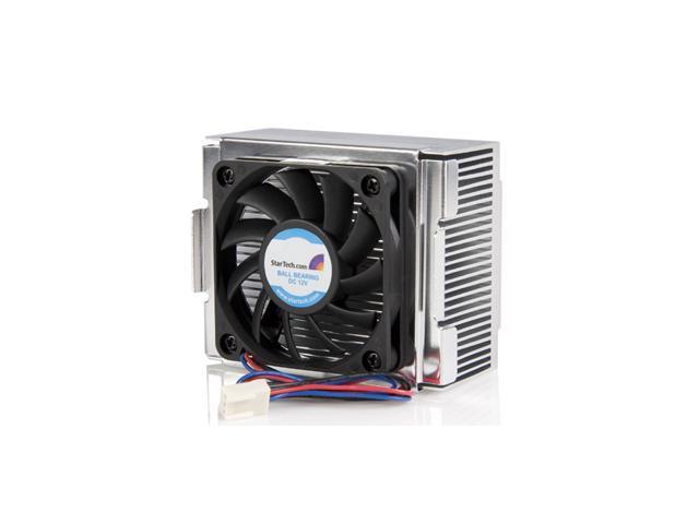 StarTech.com 85x70x50mm Socket 478 CPU Cooler Fan with Heatsink & TX3 Connector FAN478 (Black)