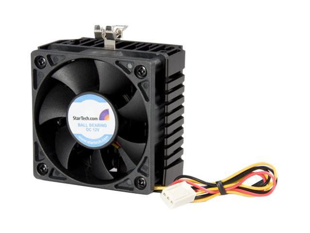 StarTech FAN370PRO 58mm Ball 65x60x45mm Socket 7/370 CPU Cooler Fan w/ Heatsink & TX3 connector