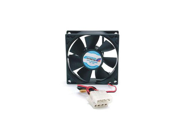 StarTech FANBOX 80mm Computer Case Fan w/ LP4 Connector