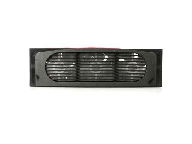 StarTech FANDRIVEBK Plastic FanPlastic Fan Enclosure 3.5in Triple Fan Hard Drive Cooler