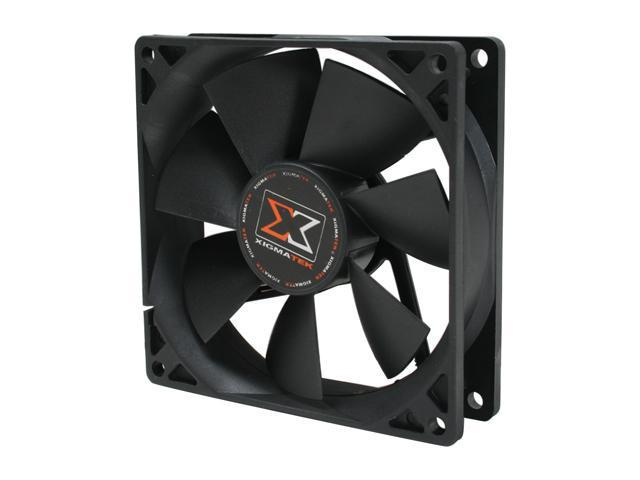 XIGMATEK XSF-F9251 90mm Case Fan PSU Molex Adapter/extender included