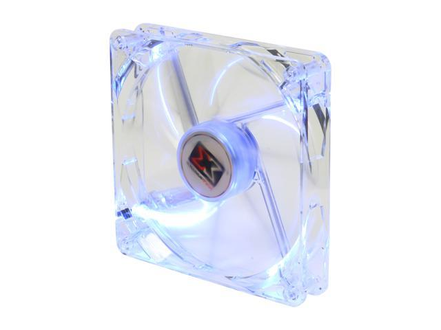 XIGMATEK FCB (Fluid Circulative Bearing) Cooling System Crystal Series CLF-F1451 140mm Blue LED Case Fan PSU Molex Adapter/extender included