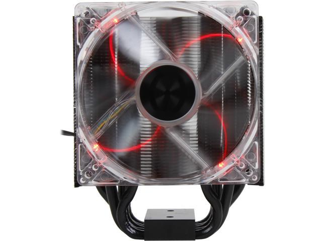 EVGA 100-FS-C201-KR 120mm Long Life Bearing ACX Active Cooling Extreme CPU Cooler, Direct Touch 5x8mm Heat Pipe