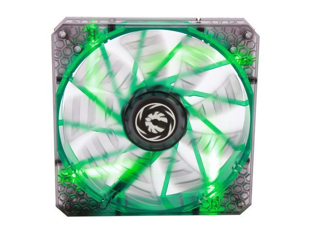 BitFenix Spectre Pro BFF-LPRO-14025G-RP Green LED Case Fan