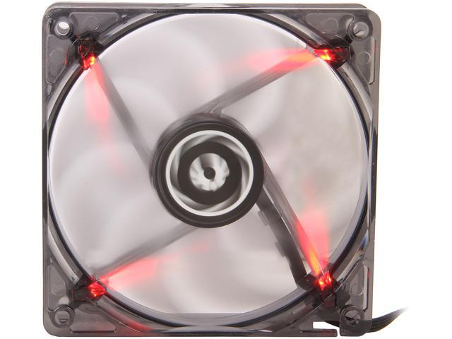 BitFenix Spectre PWM BFF-BLF-P12025R-RP 120mm Red LED Case Fan