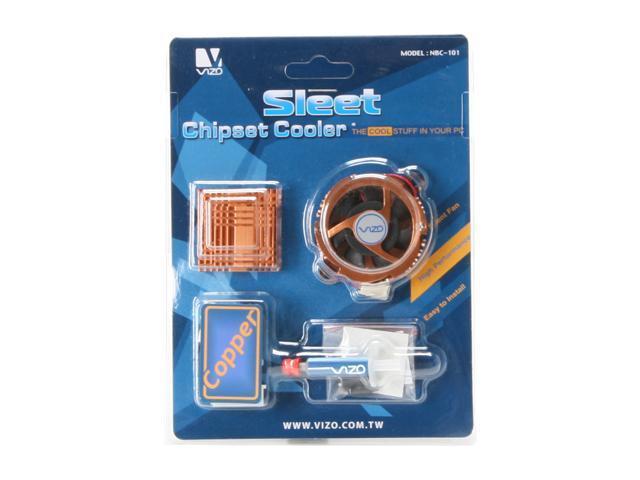 VIZO VIZO-NBC-101-CPR Copper Sleet Chipset Cooler
