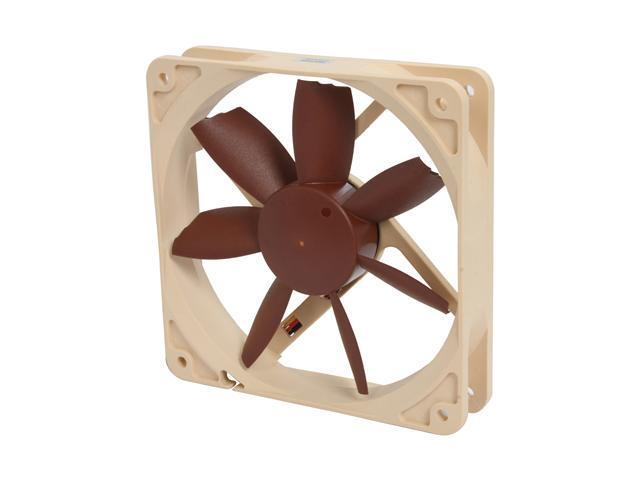 Noctua NF-S12B FLX 120mm, 3 Speed Setting, Beveled Blade Tips Design, SSO Bearing Fan - Retail
