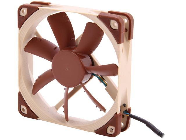 Noctua Anti-Stall Knobs Design,SSO2 Bearing 120mm, PWM Case Cooling Fan NF-S12A