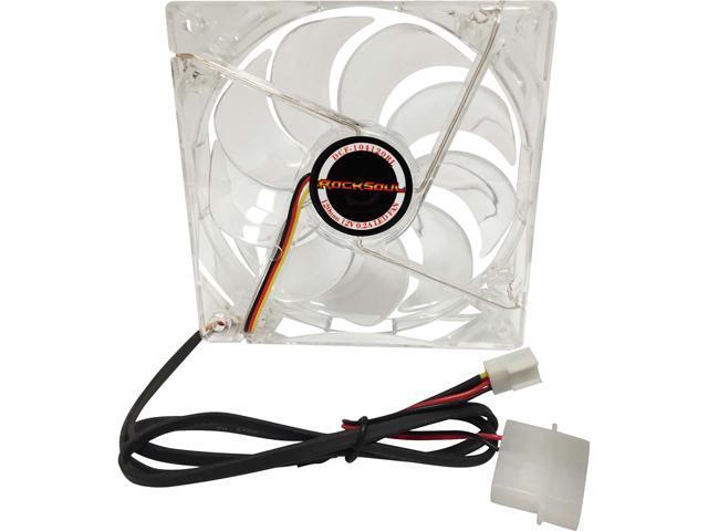 AWA Technology DCF-104120RL 120mm Red LED Case Fan