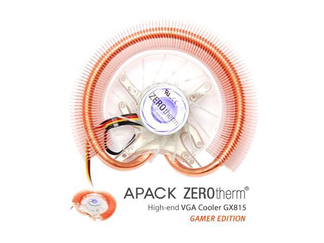 ZEROtherm GX815 Gamer Edition 2 Ball VGA Cooler