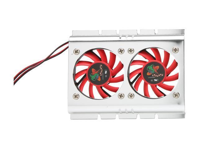 LOGISYS HC102 Aluminum alloy HDD Cooler