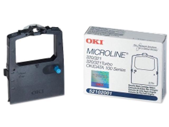 Oki Data 52102001-K12 Print Ribbon Cartridge