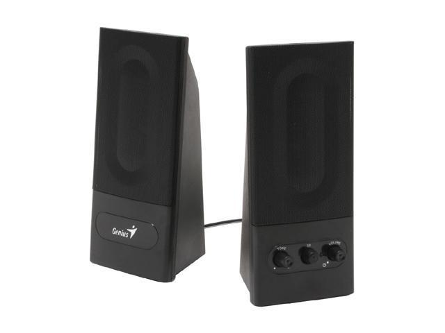 Genius F-Series SP-F200 6 Watts 2.0 Stereo Speakers