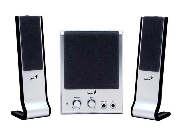 Genius SW-Flat 2.1 850 20 Watts 2.1 Speaker System