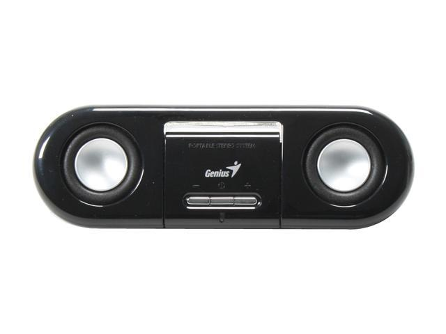 Genius SP- i200 6 watts Black Portable Speaker