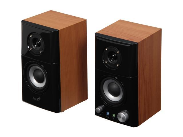 Genius SP-HF500A 14 W 2.0 Hi-Fi Wood Speakers