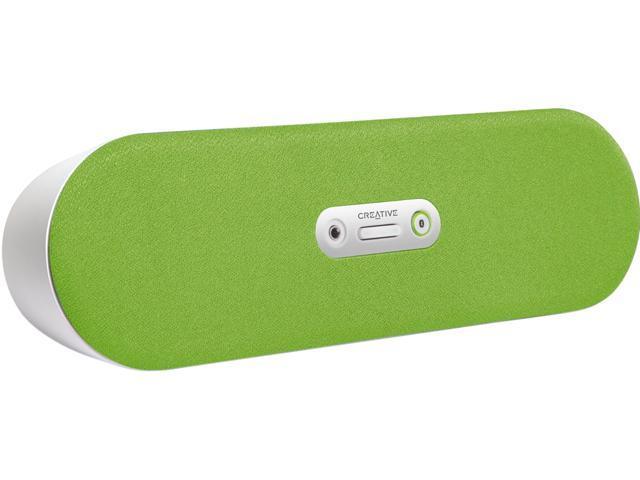 Creative 51MF8130AA007 2.0 D80 Bluetooth Wireless Speaker (Green)