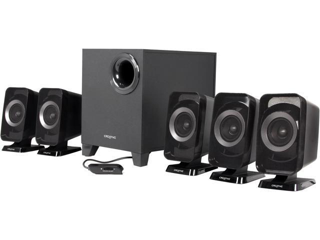 Creative Inspire T6160 5.1 Desktop Speaker System for Gaming