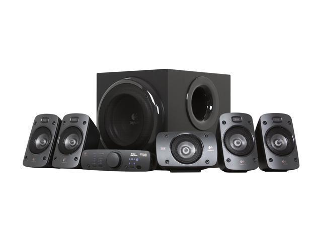 Logitech Z906 5 1 Surround Sound Speaker System 500w
