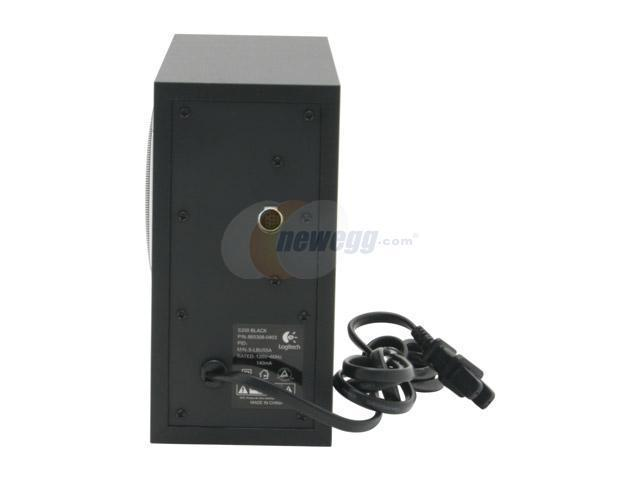 Logitech S200 30 watts 2.1 Black Speaker - OEM