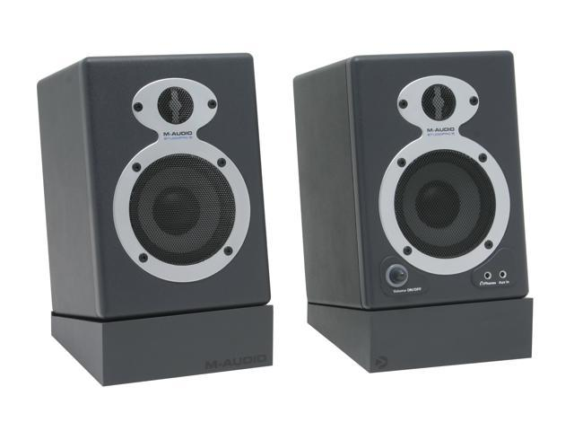M-AUDIO StudioPro 3 20 Watts 2.0 Professional Desktop Audio Monitor Speaker