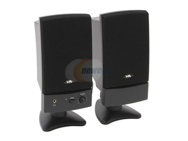 Cyber Acoustics CA-2022RB 12 watts x 2 2.0 Speakers