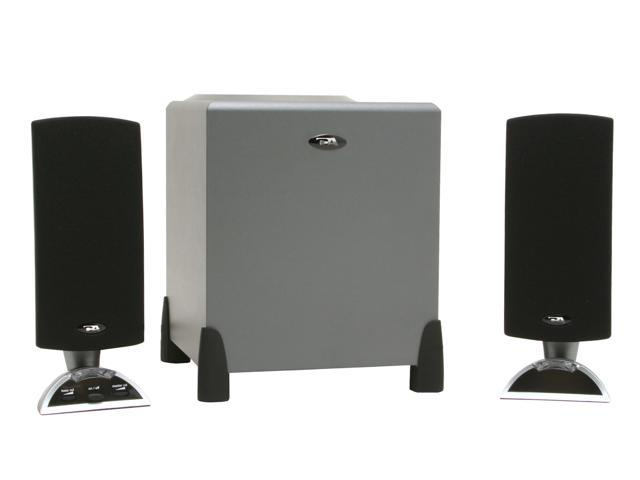 Cyber Acoustics CA-3090rb 14 Watts 2.1 Speaker