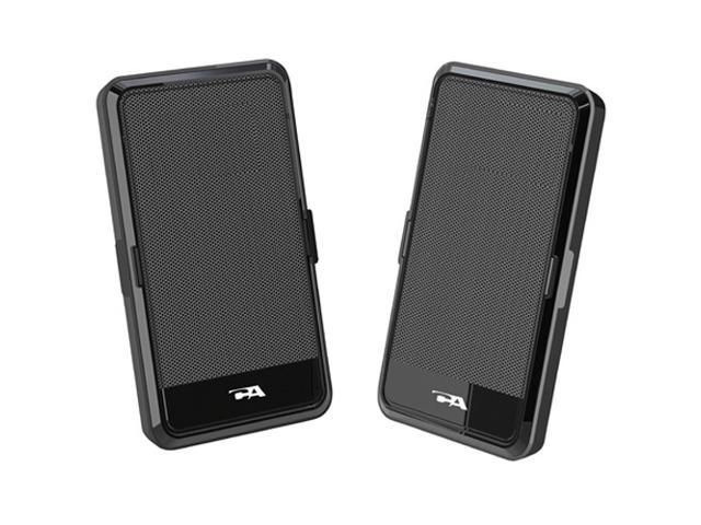 Cyber Acoustics CA-2988 2.0 USB Powered Speaker Portable Design