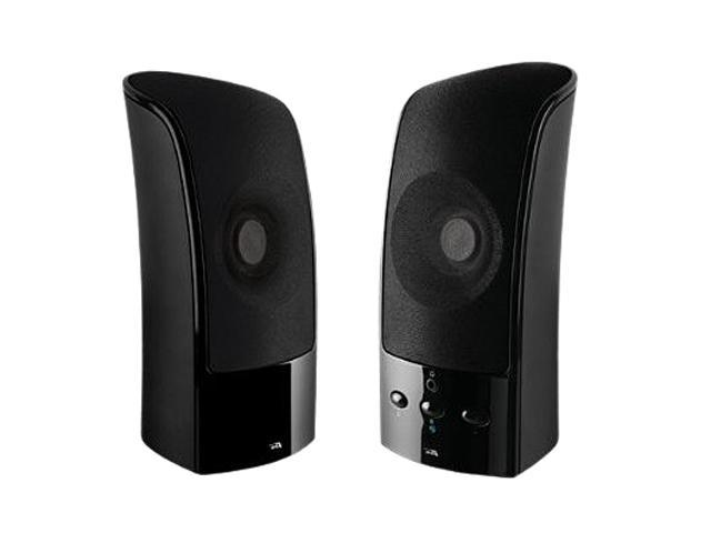 Cyber Acoustics CA-896 10 watts 2.0 2-piece Speaker System with USB Charging Input