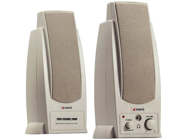 inland Home/Office Series 88033 7.2 Watts 2.0 Speaker
