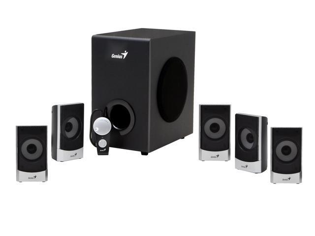 Genius SW-5.1 1500 45 watts 5.1 Speaker System