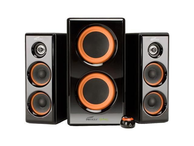 Eagle ET-AR506-BK 100 Watts  2.1 Speakers
