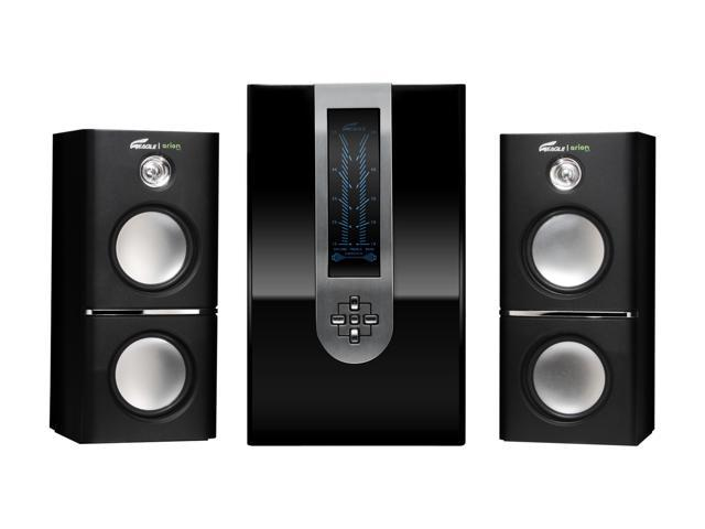 Eagle Arion ET-AR510LR-BK 2.1 Soundstage Speakers w/Subwoofer & Remote - 5.25