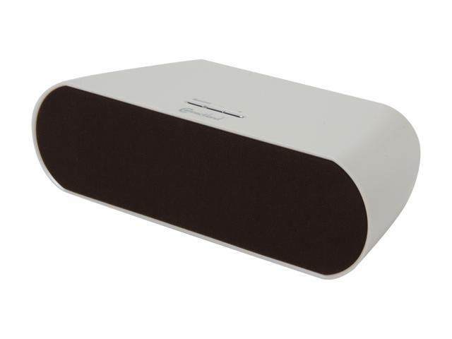 SYBA Connectland CL-SPK23021 Bluetooth V2.1+EDR Wireless Stereo Speaker in White, Powered by Batteries or AC Adapter