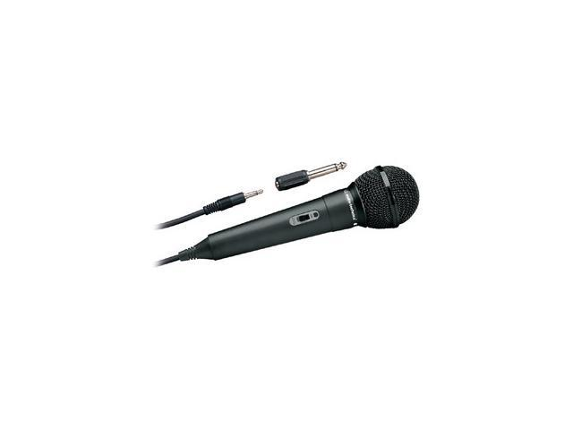 Audio-Technica ATR-1100 Black 3.5mm/ 6.3mm Connector Unidirectional Vocal Microphone