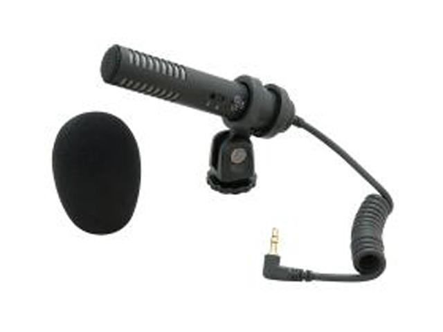 Audio-Technica PRO 24-CM Black 3.5mm Connector Stereo Condenser Microphone