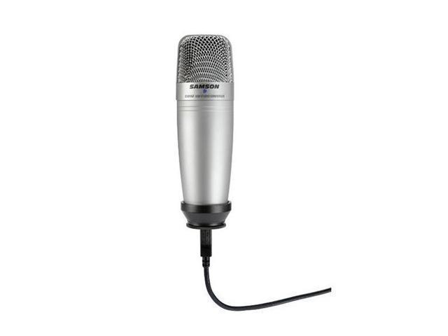 SAMSON SAC01UCW USB Connector C01U-USB Studio Condenser Microphone