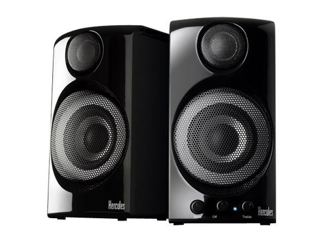 Hercules XPS 2.0 60 30 Watts RMS 2.0 HiFi Inspired 2.0 Multimedia Speakers Set