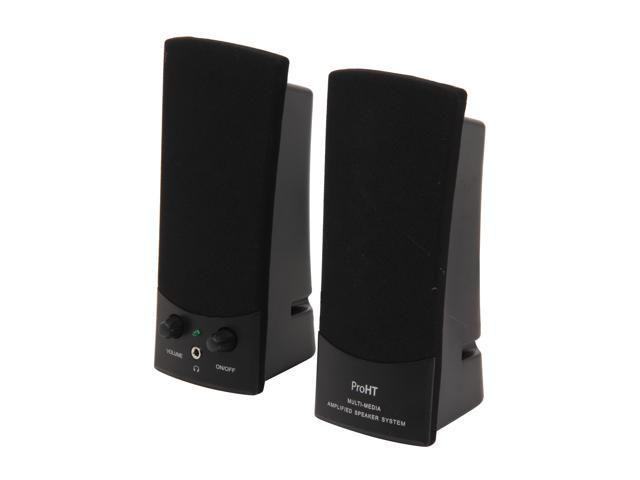 inland 88037 Output power: 1W ProHT USB Powered Stereo Speakers