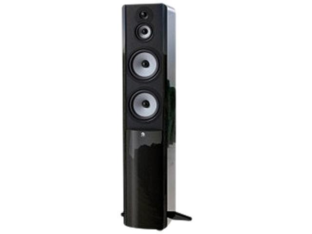 "Boston Acoustics A360GB 3-Way Dual 6-1/2"" Floorstanding Speaker Gloss Black Single"