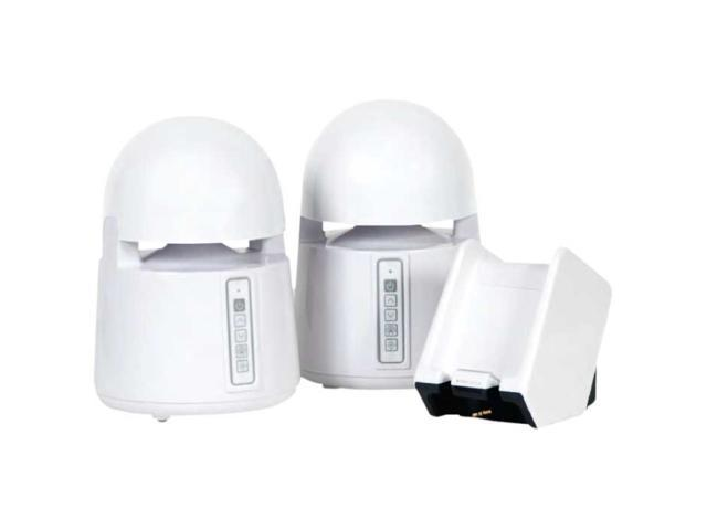 GRACE Digital Audio GDI-AQBLT300 2.0 Mini-Bullets II - Weatherproof Wireless Speakers