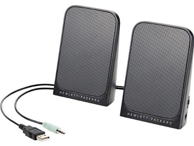 HP D9J19AA USB Business Speakers