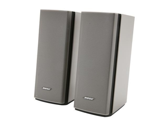 BOSE®  2.0 Companion® 20 Multimedia Speaker System (Silver)