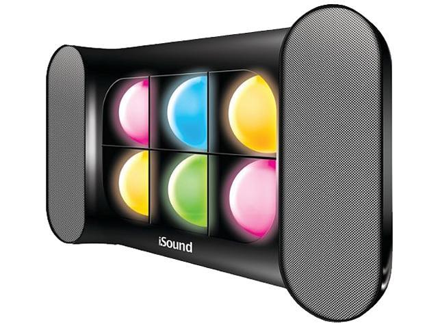 i.Sound ISOUND-5257 2.0 Speaker System - 6 W RMS - Wireless Speaker(s) - Black