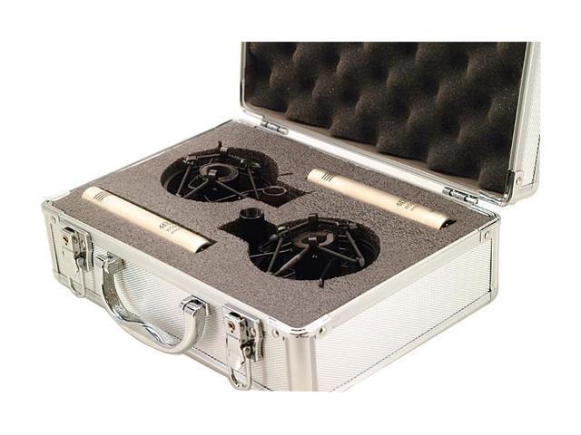 MXL 603 PAIR Silver Instrument Microphone Pair