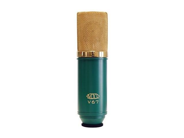 MXL V67 V67G Green XLR Connector Large Capsule Condenser Microphone