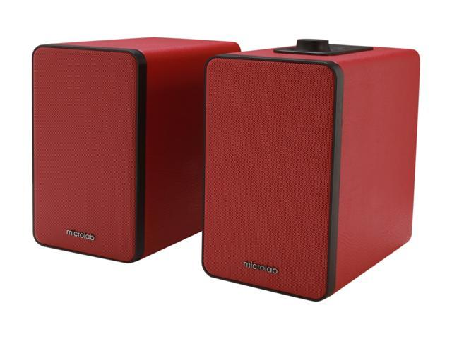 Microlab SP-H21RD 2.0 Bluetooth Wireless Speaker (Red)