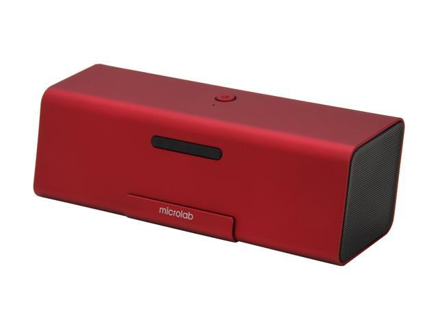 Microlab SP-MD220RE 2.0 Portable Stereo Speaker (Red)